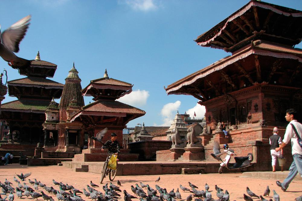 Valle-de-Katmandu-en-Nepal-(Plaza-Durbar-de-Patan)