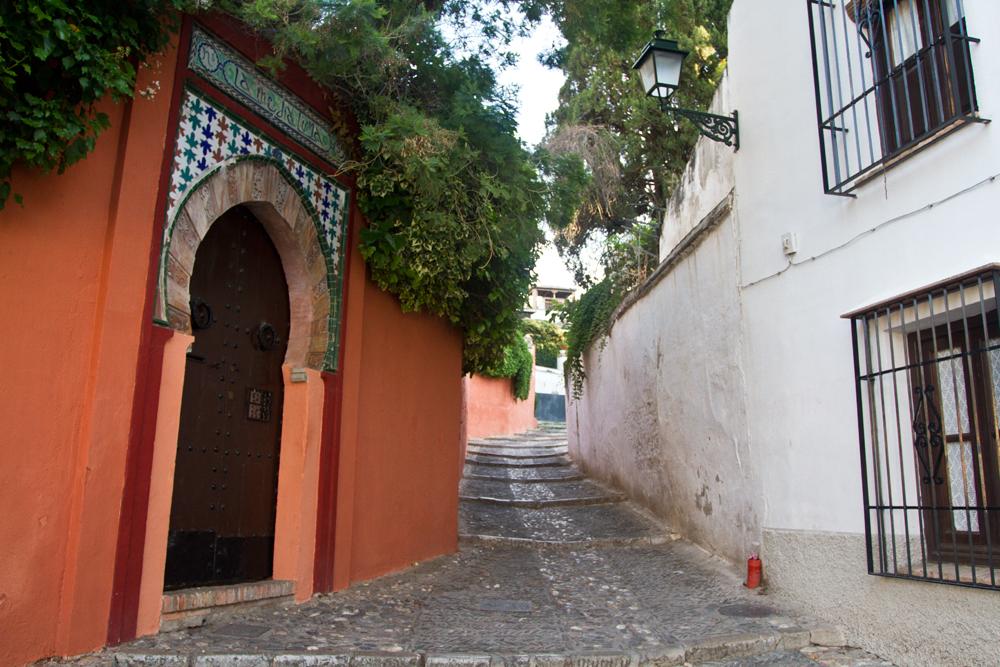 Calle-del-Barrio-de-Albaicin
